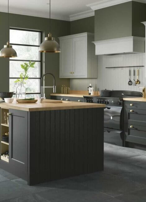 Solid Wood Kitchen Doors
